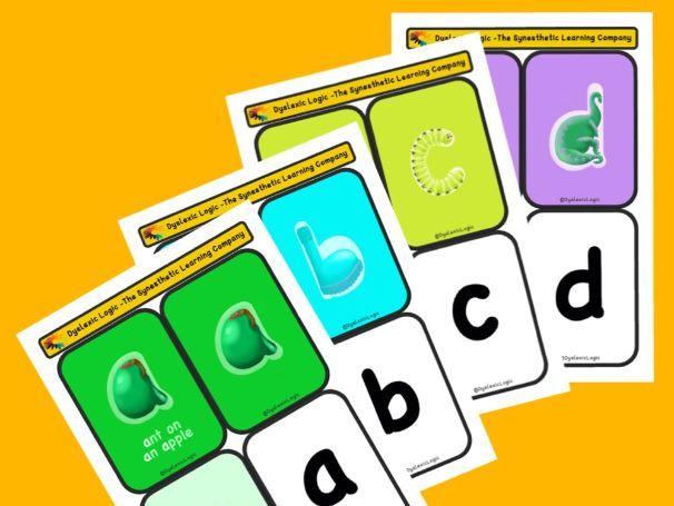 Amazing Alphabet by Dyslexic Logic