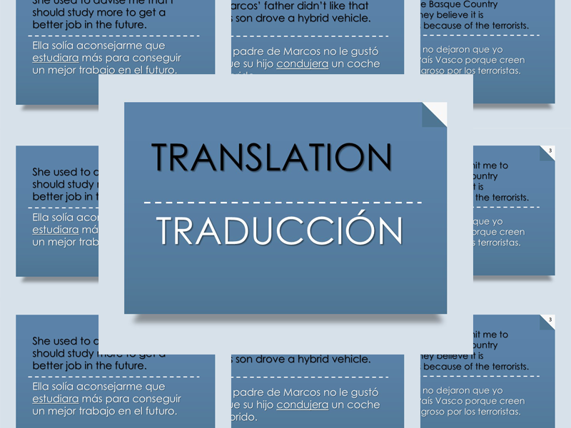 A2 Translation Exercise PowerPoint