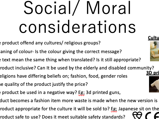 Environmental & social moral posters