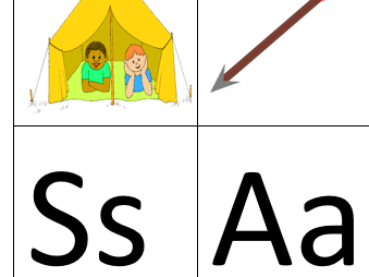 Phase 2 Phonics (s,a,t,i,p,n letters and sounds)