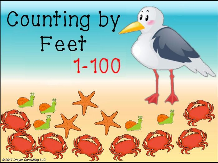 Counting by Feet:Activinspire
