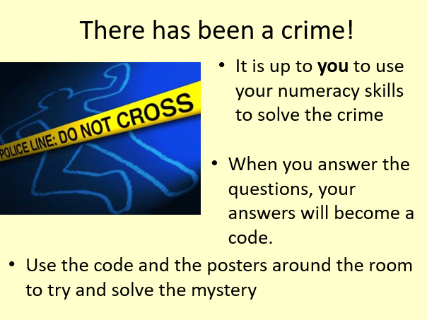 Crime of the Century - Maths