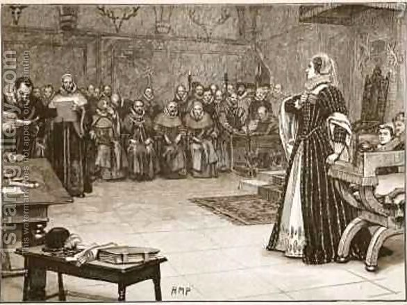 Mary Queen of Scots Mock Trial