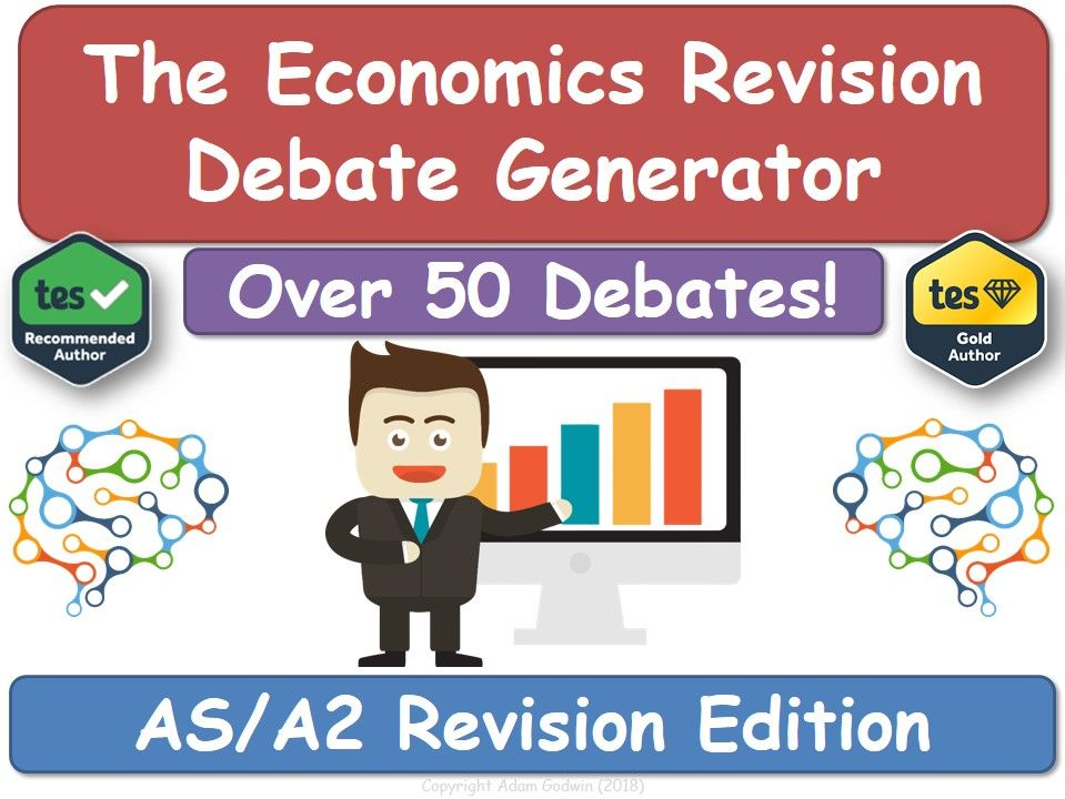 The Economics Revision Debate Generator (AS, A2, KS5, AQA, Economics, Revision, Economy)