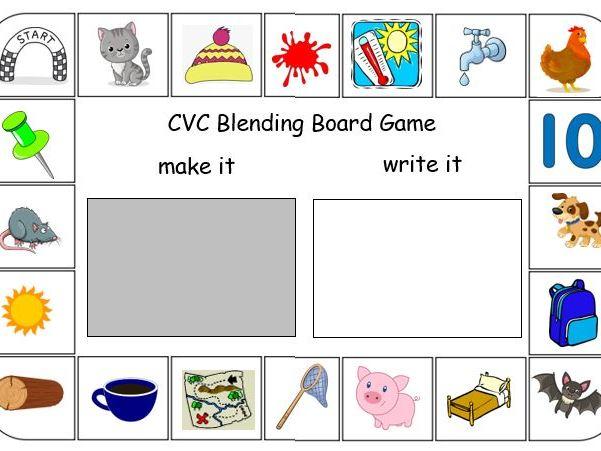 CVC Blending Board Game