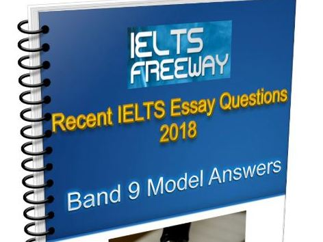IELTS Writing Task 2 Model Essays To Recent Test Questions