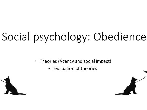 Obedience theories