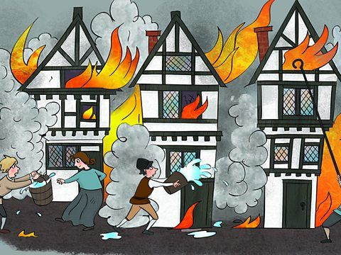 KS1 - Great Fire of London English Planning - Newspaper Reports and Diary Writing