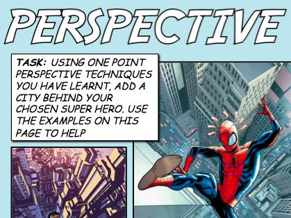 Perspective - Superhero task