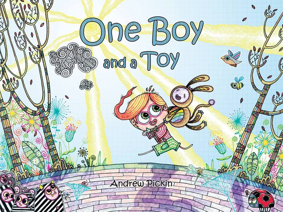 One Boy and a Toy - Illustrated Children's Book - Story - Literacy - Fun - Reading