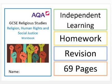 AQA GCSE RS: Religion, Human Rights and Social Justice Workbook