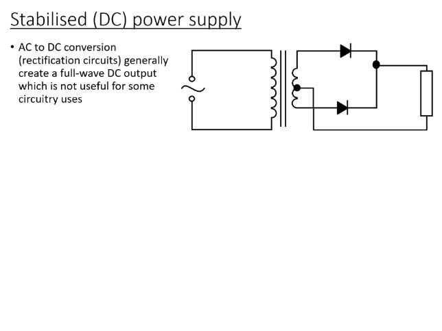 BTec Engineering - Sources of Direct Current (PowerPoint)