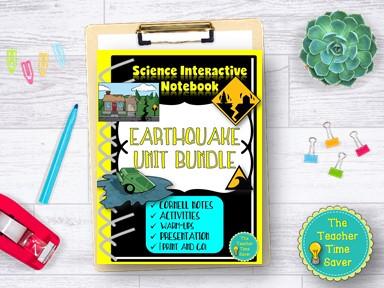 Earthquakes Seismic Waves Earth Science Curriculum Bundle