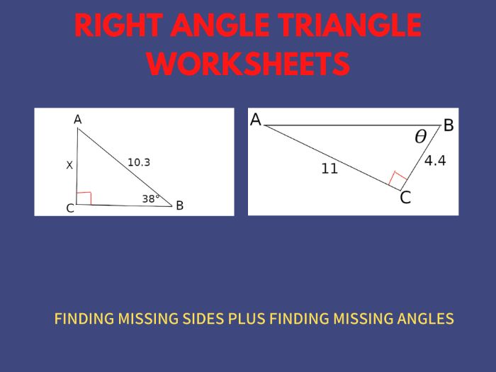 Grade 8 Trigonometry Worksheets