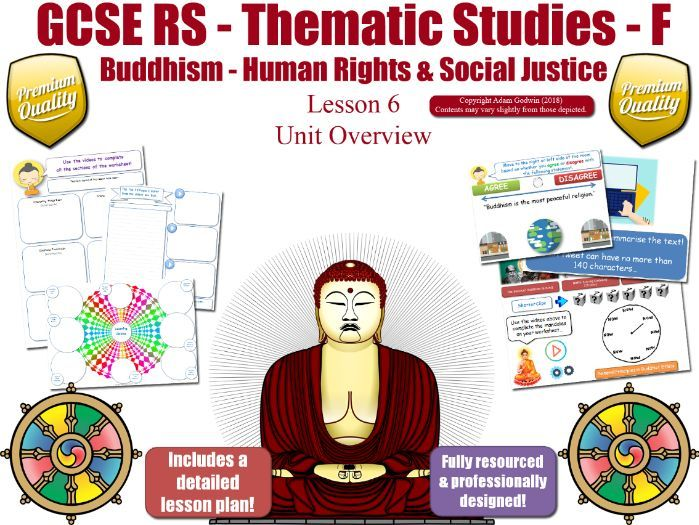 L6 - GCSE Buddhism - Poverty, Wealth, Status of Women (Human Rights & Social Justice) Theme F