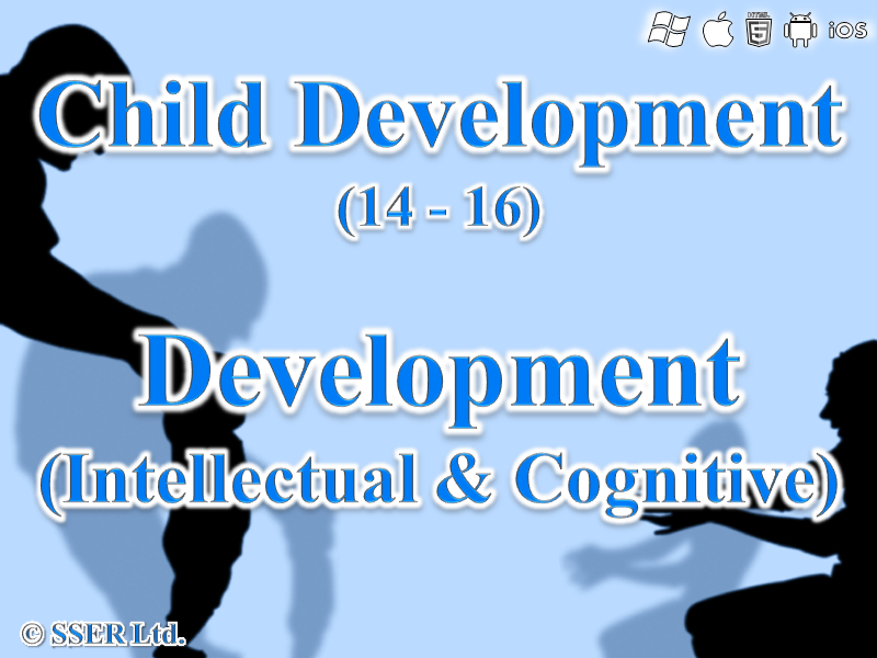 3.1 Child Development - Development - Intellectual & Cognitive