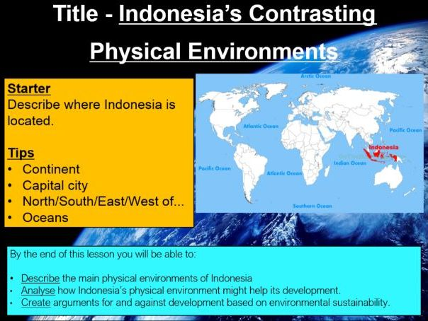 Blue Planet - Indonesia's Contrasting Physical Environments