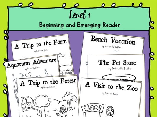 Emerging Reader Book Series - 6 book bundle