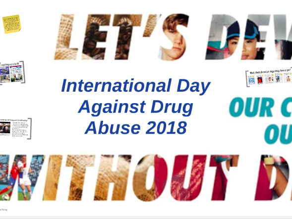 International Day Against Drug Abuse 2018