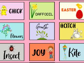Spring Alphabet Cards