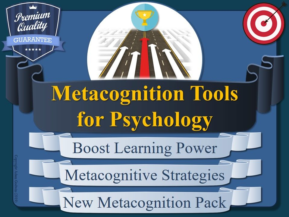 Metacognition Resources for Psychology