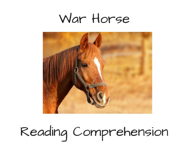 War Horse Reading Comprehension