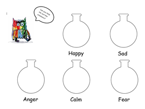 The Colour Monster Emotion Sorting