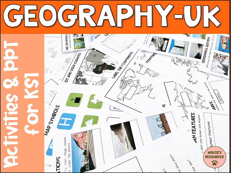 Geography The UK KS1