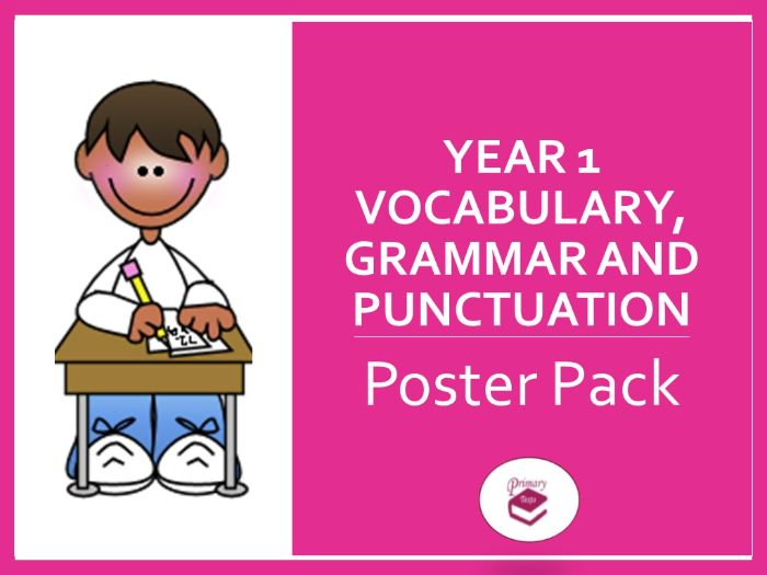 Year 1 Poster Pack