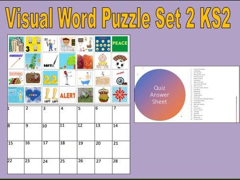 Visual Word Puzzle Set 2 KS2