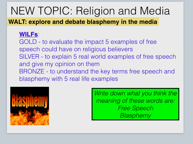 2  Lessons on Free Speech and Blasphemy in the Media
