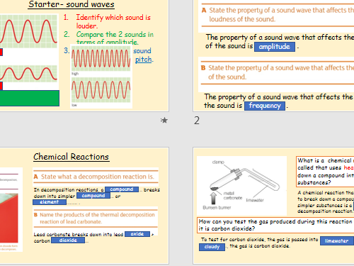 KS3-Y7-Science Revision-Biology-Chemistry-Physics