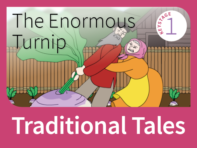 The Enormous Turnip - Harvest Tales (Traditional Tales)