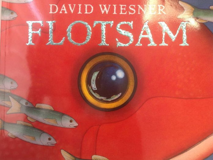 Flotsam by David Weisner (Powerpoint, weekly plan and interview lesson plan)