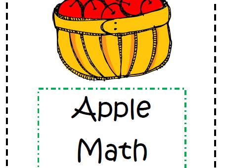 Apple Math Activities- Early Childhood