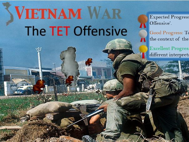 The TET Offensive (Edexcel GCSE 1-9)