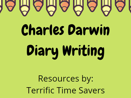 Charles Darwin Diary Writing