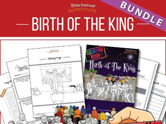 BUNDLE: Birth of The King Coloring and Activity Books