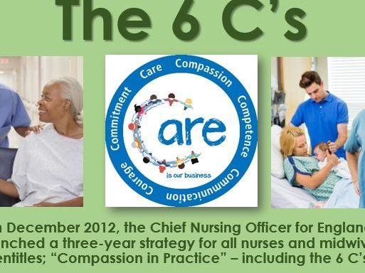 The 6 C's in nursing
