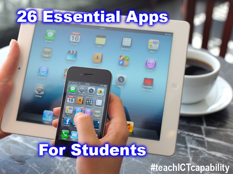 26 Essential Apps for Primary Students