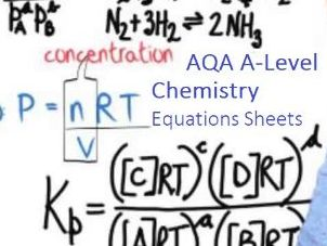 AQA A-Level Chemistry Equations Sheet