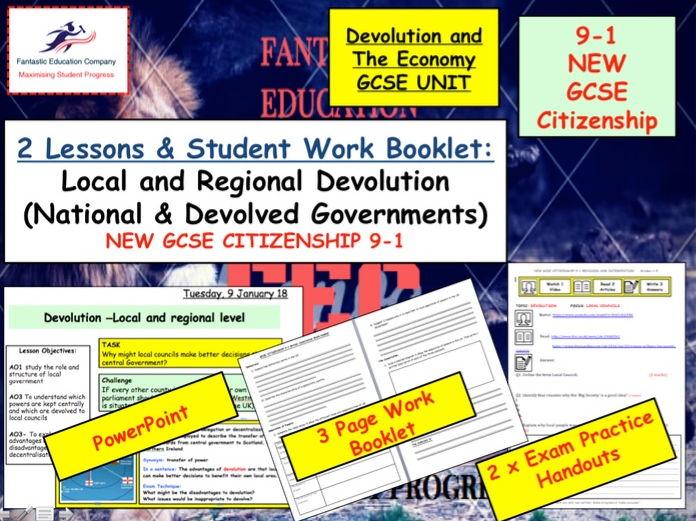 NEW GCSE Citizenship (9-1) Devolution at local and regional level - Devolution of power
