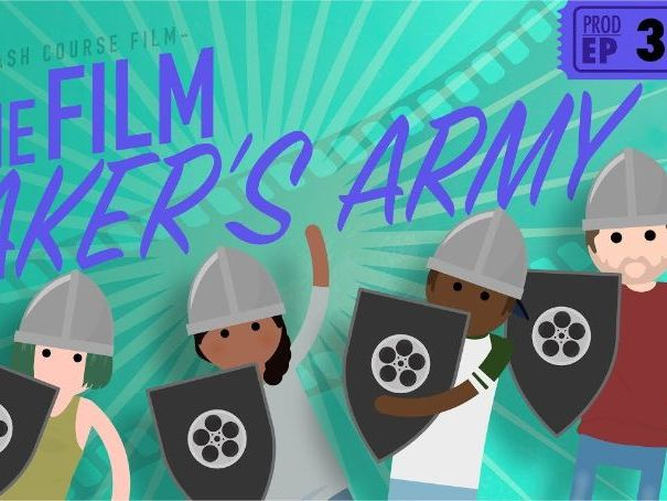Crash Course Film Production Episode #3 The Film Maker's Army Q&A Key