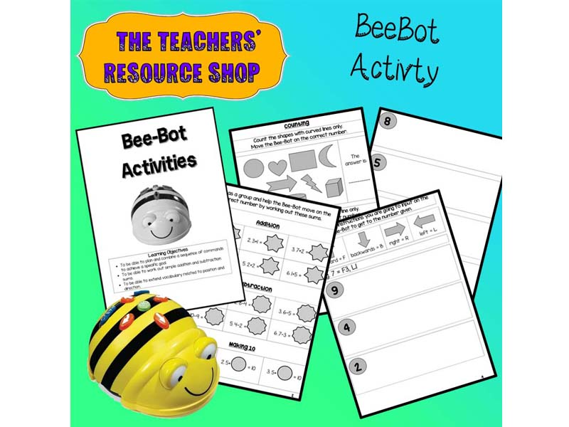 BeeBot Arithmetic Activities