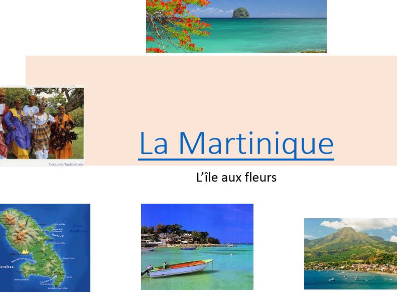 Martinique - KS4 - Francophonie (S3-S4 in Scotland)