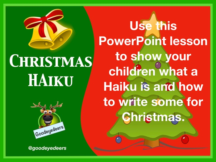 Christmas Haiku - Poetry for KS2 Children
