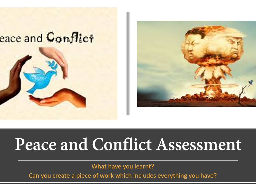 Peace and Conflict Scheme of Work