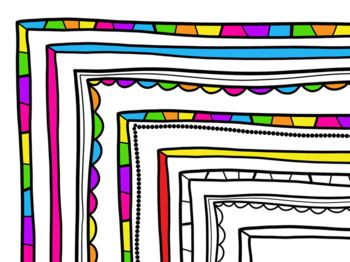 Page Borders and Frames Clip art FREE