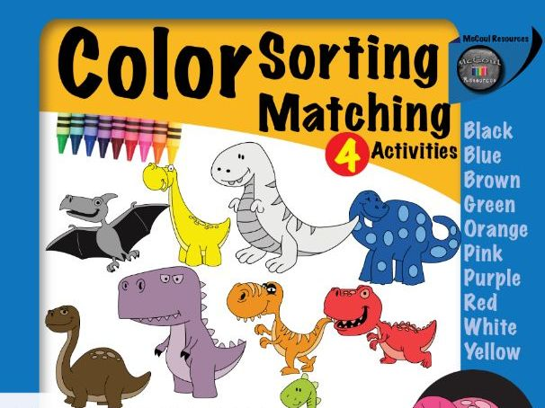 Colour Sorting and Matching Activities