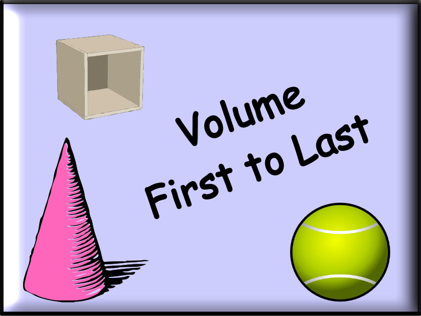 Volume - First To Last